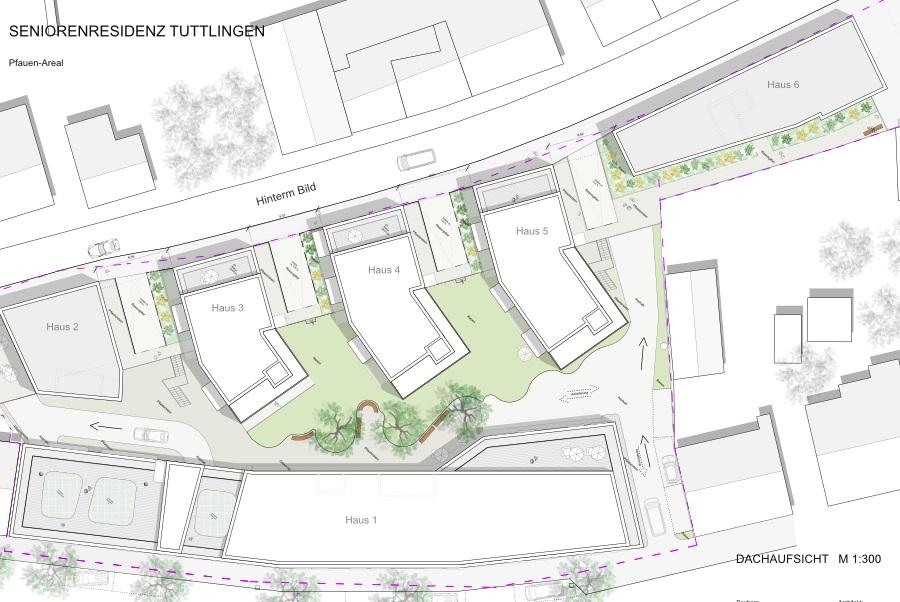 Tuttlingen pflegeheim mit 76 pl tzen und for Zweifamilienhaus plan